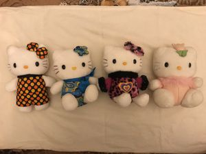 Groovy Hello Kitty plushies ($25 for set) for Sale in Jacksonville, FL