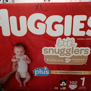 Huggies 192 Diapers for Sale in Fresno, CA