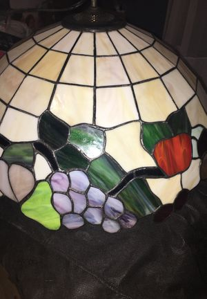 Antique stained glass chandelier for Sale in Pittsburgh, PA