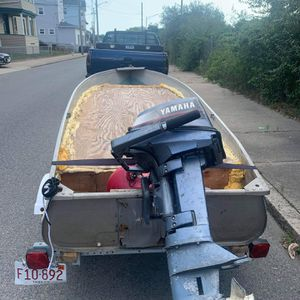 2010 Sears 12 Foot Boat With A 2 Stroke 8hp Yamaha for Sale in Dartmouth, MA