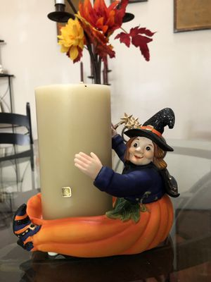 PartyLite Pumpkin Witch Candle Holder NIB for Sale in Vista, CA