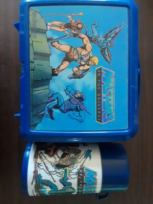 Master of the Universe lunch box and thermos for Sale in Parker, CO