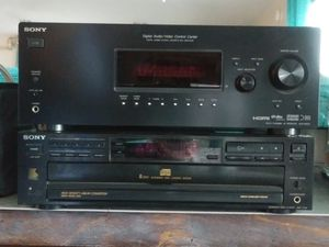 Sony Digital Audio Video Control Center & 5 disc player for Sale in Pinellas Park, FL