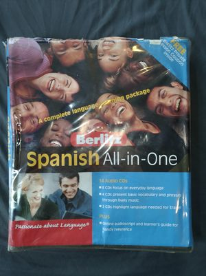 Instructional Spanish CDs for Sale in Nashville, TN