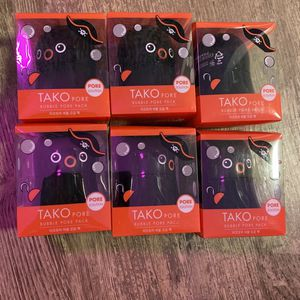 (6)TONYMOLY TAKO PORE BUBBLE PORE PACK 65G / 2.2 OZ - NEW for Sale in Alexandria, VA