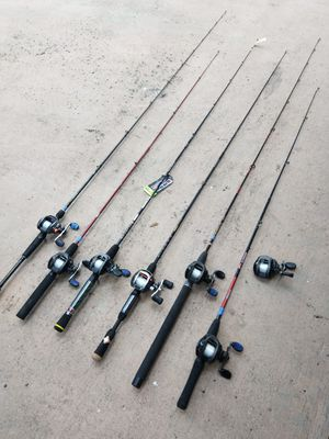 Brand new baitcasting combos...40.00 each for Sale in Pembroke Pines, FL