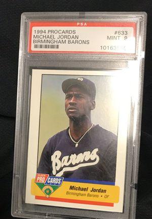 Michael Jordan Barons Baseball Card for Sale in Las Vegas, NV