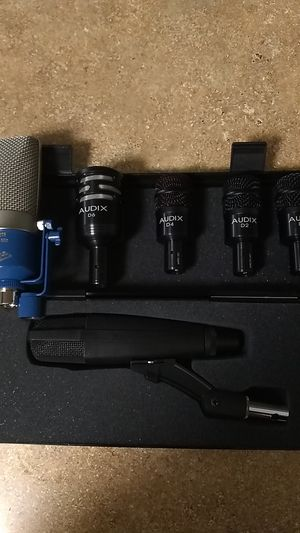 *Apex & Audix studio microphones* for Sale in Seattle, WA