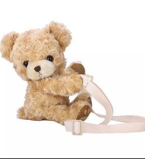 Women Cross Body Messenger Bag Small Handbag Shoulder Tote Satchel Retro Funny Girls Cute Smile Bear Plush Doll for Sale in Austell, GA