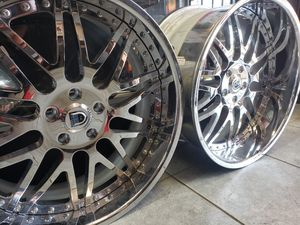 22in Asanti Wheels. Staggered ... for Sale in Houston, TX