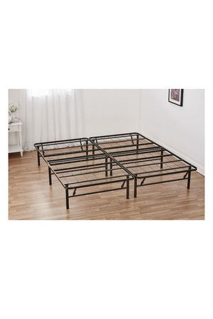 """Mainstays 14"""" High Profile Foldable Steel Bed Frame, Powder-coated Steel, FULL for Sale in Rochester, NY"""