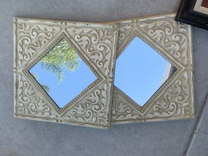 2 wall mirrors for Sale in Riverside, CA