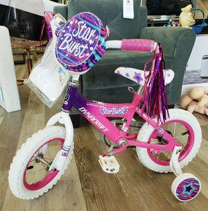 """NEW Girls 12"""" Dynacraft Star Burst Bike w/ Training Wheels: njft Kids seasonal for Sale in Burlington, NJ"""