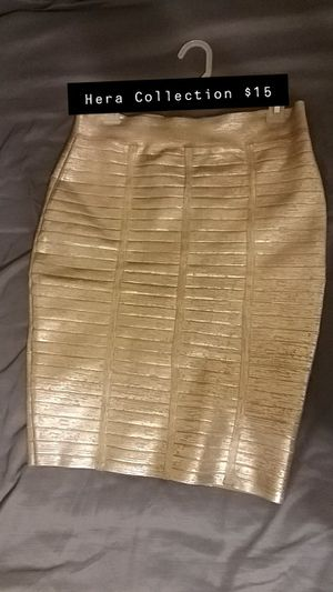 Golden bandage skirt for Sale in Bakersfield, CA