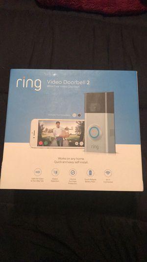 Ring Video Doorbell 2 for Sale in Manassas, VA
