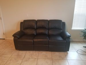 Sofa and Loveseat recliners for Sale in Riverview, FL