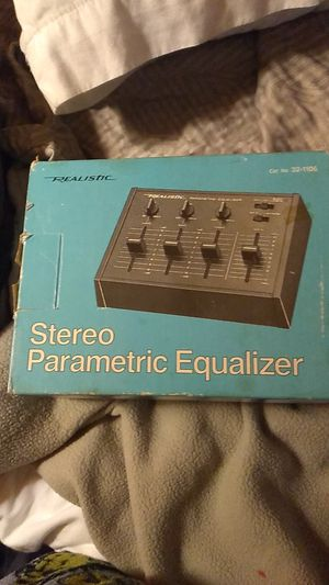Realistic stereo parametric equalizer for Sale in Fresno, CA