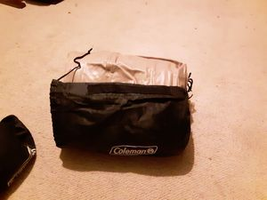 Two Coleman air matresses pump and sleeping bag for Sale in Waterloo, IA