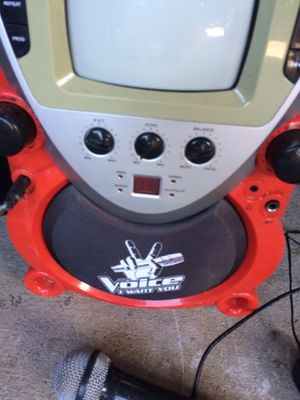 Karaoke/ cd player and more for Sale in Georgetown, TX