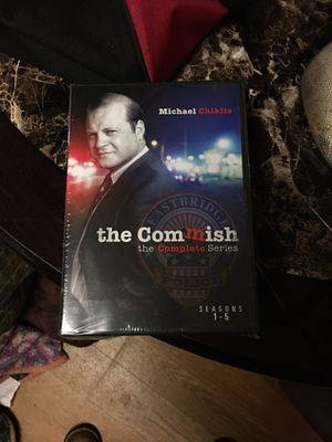 The commish starring Michael Chiklis, complete series, seasons 1-5. BRAND NEW STILL IN ORIGINAL PACKAGING/WRAPPING. Asking $200.00, worth about $233. for Sale in King, NC
