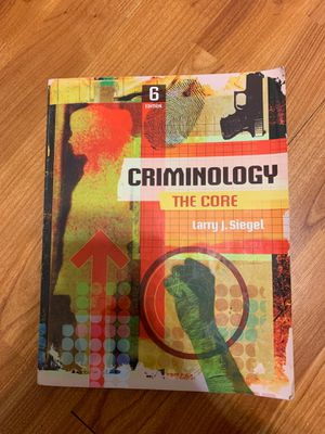 Criminology textbook for Sale in Tampa, FL
