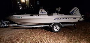 97 wellcraft 16ft center console boat for Sale in Williamstown, NJ