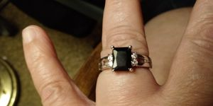 A Black Onyx Ring for Sale in Columbia, PA