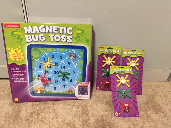 Brand New Magnetic Bug Toss Game from Lakeshore