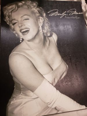 Marilyn Monroe Wooden Print for Sale in Anchorage, AK
