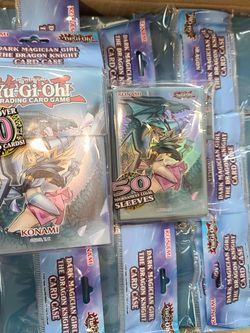 Dark Magician Girl The Dragon Knight Deck Box / Sleeves (50ct) Yugioh TCG for Sale in Claremont,  CA