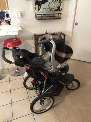Baby trend jogging stroller and car seat combo for Sale in Eugene, OR