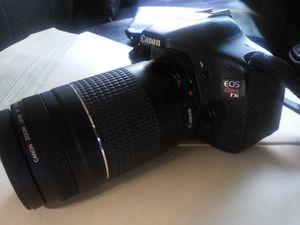 Cannon EOS T3I REBLE camera professional series for Sale in Tampa, FL