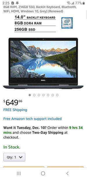 Dell 2 in 1 laptop for Sale in Manteca, CA
