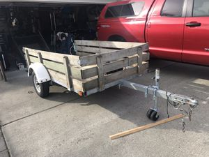9x5 Galvanized Utility Trailer for Sale in Tacoma, WA