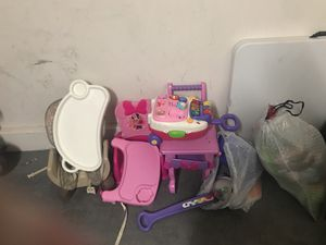 Kids toys and high chairs for Sale in North Las Vegas, NV