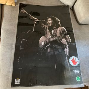 Bob Marley Laminated Poster for Sale in Phoenix, AZ