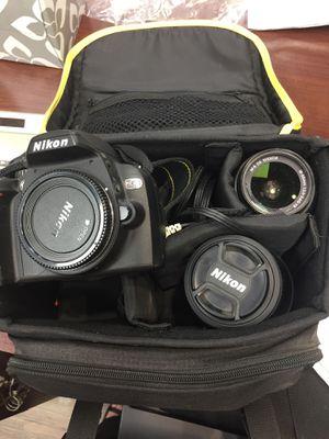 Nikon Camera with 2 Lenses for Sale in Tempe, AZ