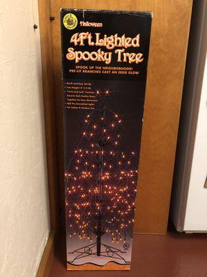 SPOOKY Lighted Halloween Tree for Sale in Seattle, WA