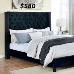 CALI KING BED FRAME AND MATTRESS INCLUDED for Sale in Anaheim,  CA