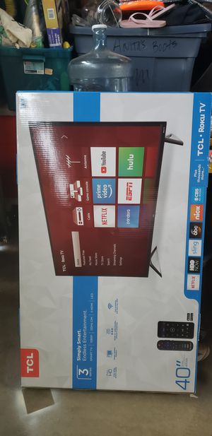 TCL 40' ROKU TV for Sale in Ontario, CA
