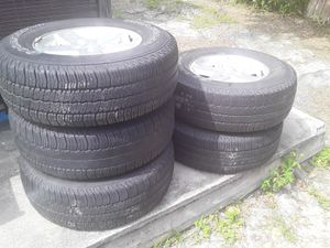 Goodyear tire rim P255/75R17 NEED GONE ASAP for Sale in Tampa, FL