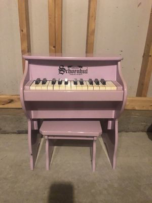 Schoenhut 25-Key Teddy Bear Toy Piano with Bench for Sale in Wake Forest, NC