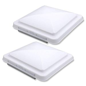 2 Packs 14 Inch RV Roof Vent Cover Universal Replacement Vent Lid White for Camper Trailer for Sale in Hacienda Heights, CA