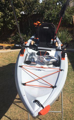 Kayak new! Lifetime fishing kayak for Sale in Bakersfield, CA