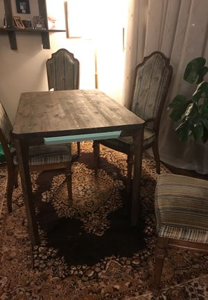 Sleek wood table with drawers for Sale in Portland, OR
