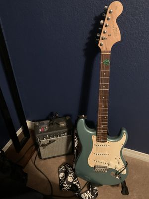 Electric Guitar W/Amp & Tuner for Sale in Menifee, CA