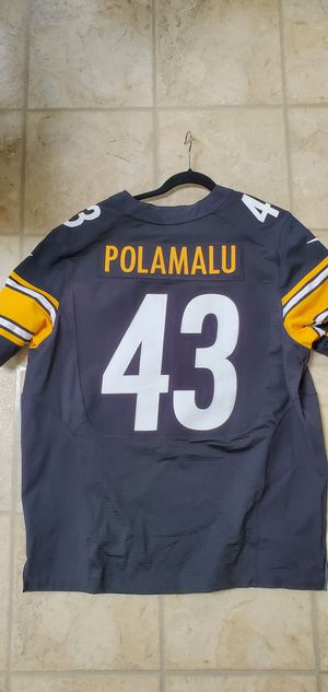 Troy Polamalu authentic Pittsburgh Steelers jersey for Sale in Forest, VA