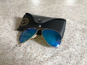 Gold Ray-Ban aviators for Sale in Erie, PA