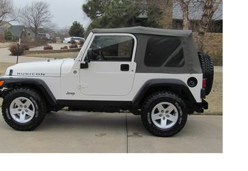 Amazing CAR 2005 Jeep Wrangler Rubicon FwDWheels -aesfadsz for Sale in Rochester,  NY
