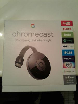 Brand New Chromecast with Free Netflix and Hulu for Sale in Germantown, MD